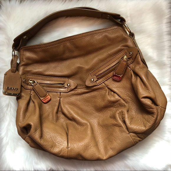 Dkny Handbags - DKNY Brown Leather Handbag/Satchel